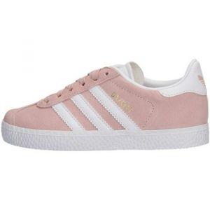 Adidas Gazelle C, Chaussures de Fitness Mixte Enfant, Rose (Roshel/Ftwbla/Dormet 000), 32 EU
