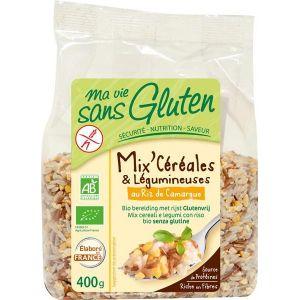 Ma vie sans gluten Mix céréales & légumineuses au riz de camargue 400gr