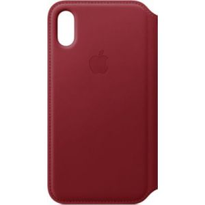 Apple Etui iPhone XS cuir Red