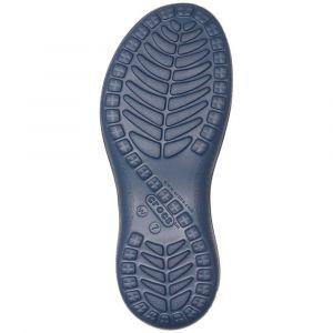 Crocs Capri Strappy Flip W, Tongs Femme, Bleu Navy, 41 EU