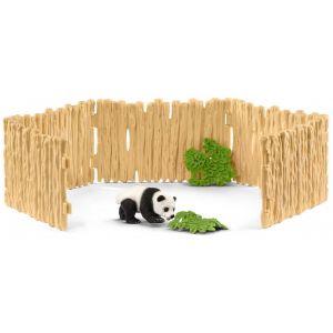 Schleich 42429 - Enclos à pandas