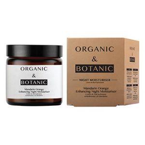 Organic & Botanic Crème de nuit hydratante embellissante à la mandarine