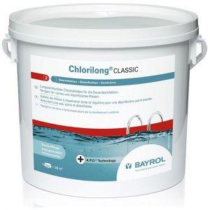 Bayrol Galets de 250g de chlore Chlorilong Classic - Seau de 5kg