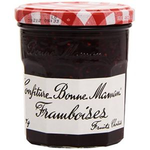 Bonne Maman Confiture de framboises, fruits choisis - Le pot de 370g