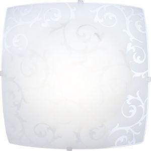 Globo Plafonnier CEDRIC Blanc, 1 lumière