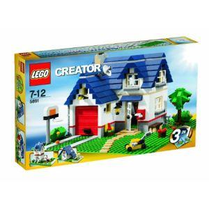 Lego 5891 - Creator 3 en 1 : La maison de campagne