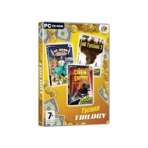 Tycoon Trilogy : Ice Cream Tycoon Deluxe + Oil Tycoon 2 + Cinema Empire [PC]