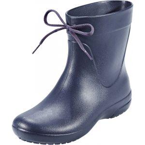 Crocs Freesail Shorty Rain Boots, Femme Bottes, Bleu (Navy), 38-39 EU