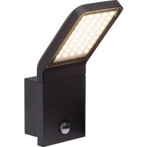 Brilliant AG PANEL - Applique d'extérieur LED avec Détecteur Noir H25,6cm