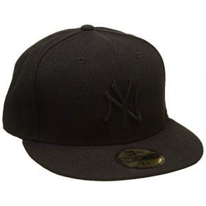 A New Era Black on Ny Yankees casquette black 7 1/8