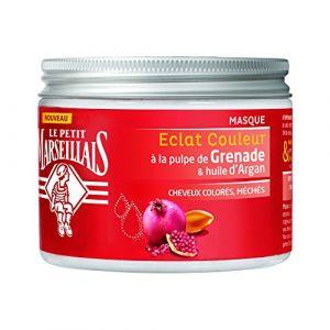 Le Petit Marseillais Eclat Couleur - Masque à pulpe de Grenade & huile d'Argan