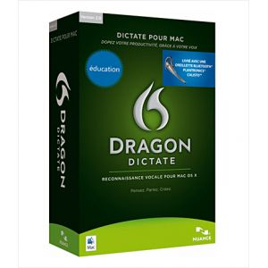 Dragon Dictate 2 wireless (avec oreillette sans fil bluetooth) pour Mac OS