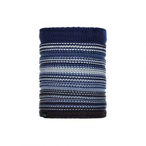 Buff Knitted & Polar Neckwarmer Neper blue ink