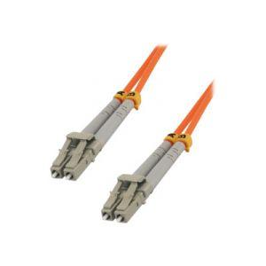 MCL Samar FJOM2/LCLC-1M - Fibre optique LC/LC multi-mode 50/125 microns OM2 m/m 1 m