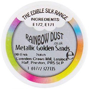 Rainbow dust POUDRE COMESTIBLE MÉTAL OR SABLE