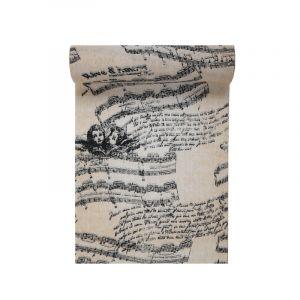 C min de table en coton Musique romantique 3 m Taille Unique