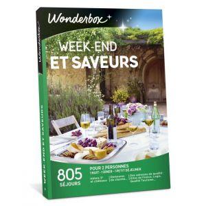 Wonderbox Week-end et saveurs - Coffret cadeau 805 séjours