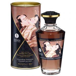 Shunga Erotic Art Huile Chauffante Aphrodisiaque Parfumée Shunga Chocolat
