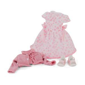 Gotz 3403169 Ensemble Pink Love - Vêtements pour poupée de T. XL - Set de 4 vêtements et Accessoires pour poupées de 45 - 50 cm