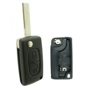 Neoriv Coque de clé télécommande adaptable + lame PSA208