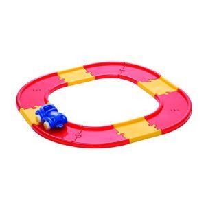 Asa Toys Circuit avec 12 morceaux de piste + 1 véhicule