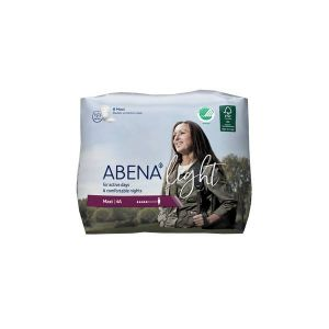 Abena 8 Protections anatomiques Light Maxi 4A - 1000 ml - 15x41,2cm