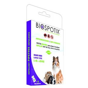 Biogance Biospotix Pipettes répulsives pour grand chien
