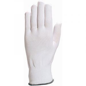 Delta Plus Gants en polyamide sans couture base ourlée ambidextre - Taille 7 - lot de 12 paires