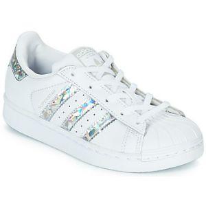 Adidas Superstar C Mixte Enfant, Blanc FTWR White, 34 EU