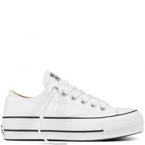 Converse Chuck Taylor All Star Lift Canvas Low Top Black 36