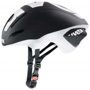 Uvex Edaero - Casque vélo de route noir 53 cm