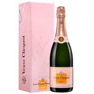 Veuve Clicquot Champagne brut rosé sous etui design box 75cl