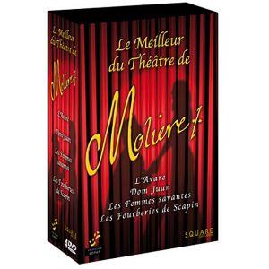 Coffret Molière - Avare + Dom Juan + Femmes Savantes + Les Fourberies de Scapin