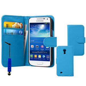 Vcomp Étui portefeuille pour Samsung Galaxy S4 Mini I9190/ S4 Mini Plus I9195i/ I9192/ I9195/ I9197