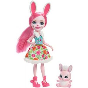 Mattel Poupée Enchantimals Bree Lapin