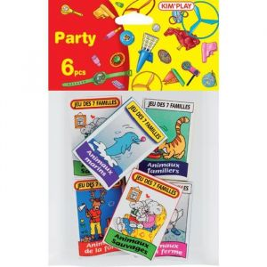 Kim'play Kit 6 jeux de 7 familles