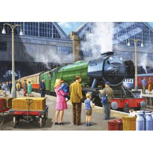 Falcon Flying Scotsman At Kings Cross - Puzzle 1000 pièces