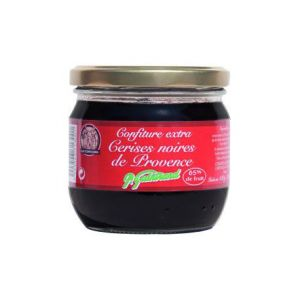 P. guintrand Confiture de Cerises Noires de Provence , Pot 380 gr