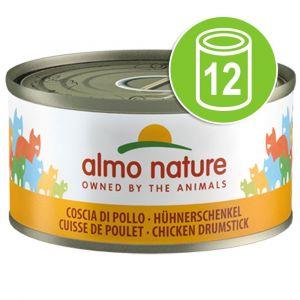 Almo Nature 24x70g poulet / potiron Nature Legend - Nourriture pour Chat
