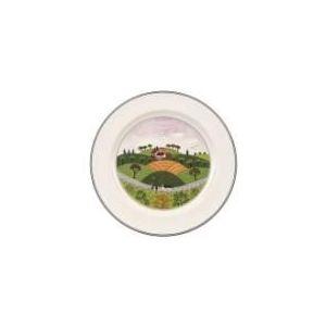 Villeroy & Boch Assiette plate ronde design Naïf en porcelaine (27 cm)