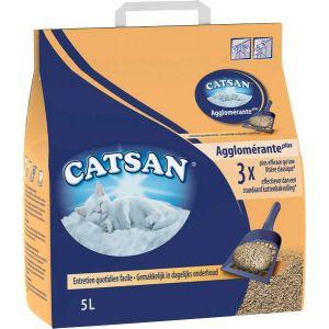 Catsan Agglomérante Plus 5 L - Litière pour chat