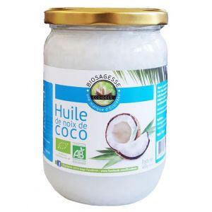 Ecoidées Huile de noix de coco Biologique Écoïdées 500 ml