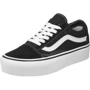 Vans Old Skool Platform Black/White Baskets - Sneakers