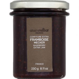 Alain Milliat Confiture extra framboise - Le bocal de 230g