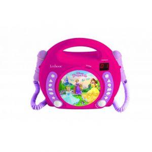 Lexibook Lecteur CD avec microphone Disney Princess