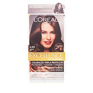 L'Oréal Excellence 4.03 Châtain Foncé Radiant - Crème colorante triple protection