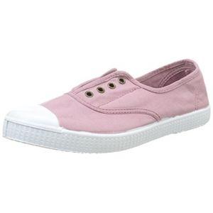 Victoria Inglesa Elastico Tintada Punt, Sneakers Basses Mixte Adulte, Rose (42 Rosa), 36 EU