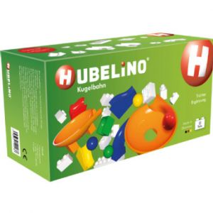 Hubelino Marble Run - Twister Extension Set - 22pcs - Age 3+ (100% compatible with Duplo) by