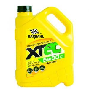 Bardahl Huile moteur XTEC 5W30 C1 - Bidon de 5 L