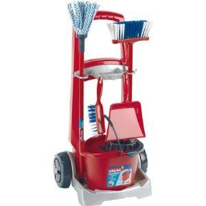 Klein Chariot de ménage avec accessoires Vileda